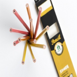 HB PS Plastic Pencil With Sharpened And Eraser