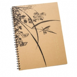 A5 Wire Spiral notebook
